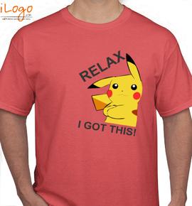 pikachu i got this - T-Shirt