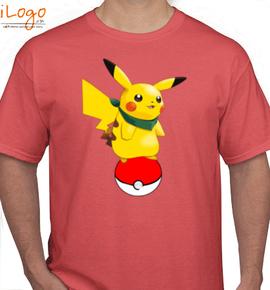 pikachu ball - T-Shirt