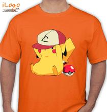 Pikachu pikachu-with-cap T-Shirt