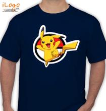 Pikachu pikachu-with-white-circle T-Shirt