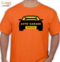 Automotive AUTO-GARAGE-Service T-Shirt