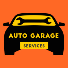 Automotive AUTO-GARAGE-Service T-Shirt