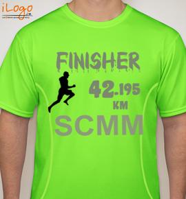 jan--scmm-marathon - Blakto Sports T-Shirt