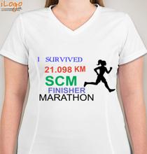 Running womens-marathon-jan- T-Shirt
