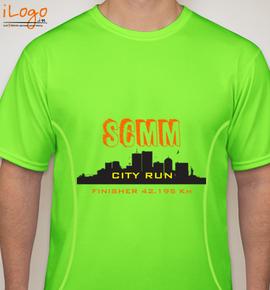 orange-light-color - Blakto Sports T-Shirt