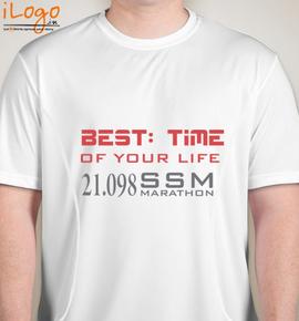 best-time-of-marathon - Blakto Sports T-Shirt