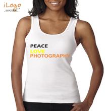 peace-love-photography T-Shirt