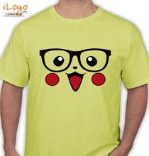 Pikachu pikachu-with-specs T-Shirt