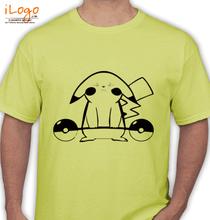 Pikachu pikachu-with-pokemon T-Shirt