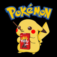 pokemon-with-pocky-sticks T-Shirt