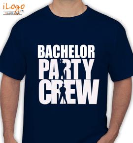 bachelor party crew - T-Shirt