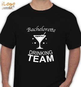 Bachelor-drinking-team - T-Shirt