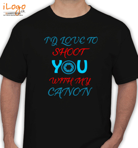 shoot with cannon - T-Shirt