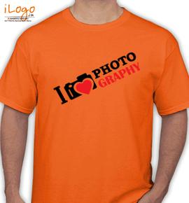 love photography - T-Shirt