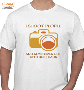 photography shoot people - T-Shirt