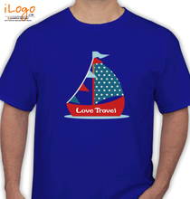 Yachts Love-Travel T-Shirt