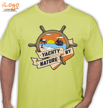 Yachts Yachty-by-nature T-Shirt