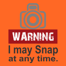 Photographer photograph-warning T-Shirt