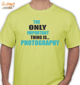 important-thing-photography - T-Shirt