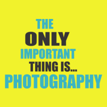 Photographer important-thing-photography T-Shirt