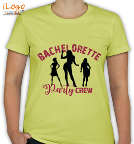 BACHELORETTE party crew - T-Shirt [F]