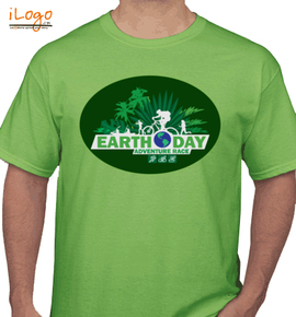Earth day runner - T-Shirt