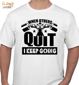 fitness  - T-Shirt