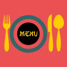 Restaurant Menu- T-Shirt