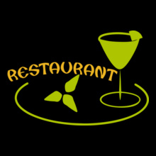 RESTAURANT-Green T-Shirt