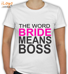 the-word-means-boss - T-Shirt [F]
