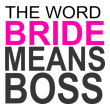 Wedding the-word-means-boss T-Shirt