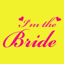 Wedding I-m-the-bride-t-shirt T-Shirt