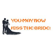 Wedding KISS-THE-BRIDE T-Shirt