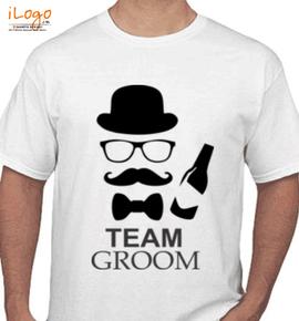 Team-groom-t-shirts-for-wedding - T-Shirt