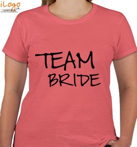 T-shirts-for-team-bride-front - T-Shirt [F]