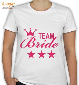 Star-team-bride - T-Shirt [F]