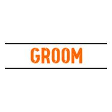 Wedding Groom-underline-tshirt T-Shirt