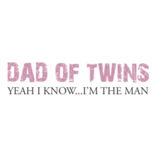 Dad-of-twins-t-shirt T-Shirt