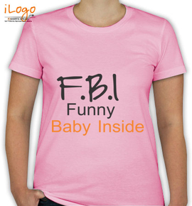 Funny-baby-inside - T-Shirt [F]