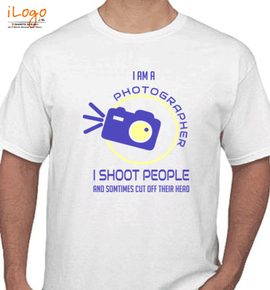 I am a photographer - T-Shirt