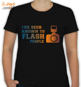 Known to flash people - T-Shirt [F]