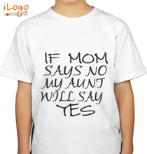 Baby Aunt-will-say-yes-baby-tshirt T-Shirt