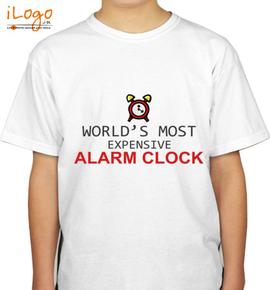 Expensive-alarm-clock - Boys T-Shirt