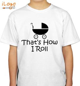 Thats-how-i-roll-tshirt - Boys T-Shirt