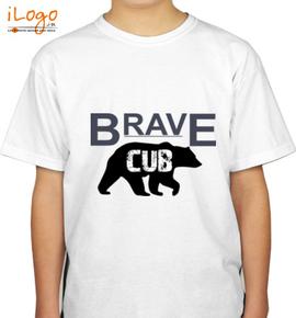 brave-cub-tshirt - Boys T-Shirt