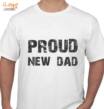 Father's Day Proud-new-dad T-Shirt