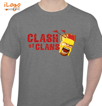 Clash of Clans Clash-of-Clans- T-Shirt