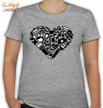 Medical College heart-medical T-Shirt