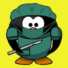Medical penguin-doctor T-Shirt