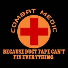 Medical combat-media-design T-Shirt